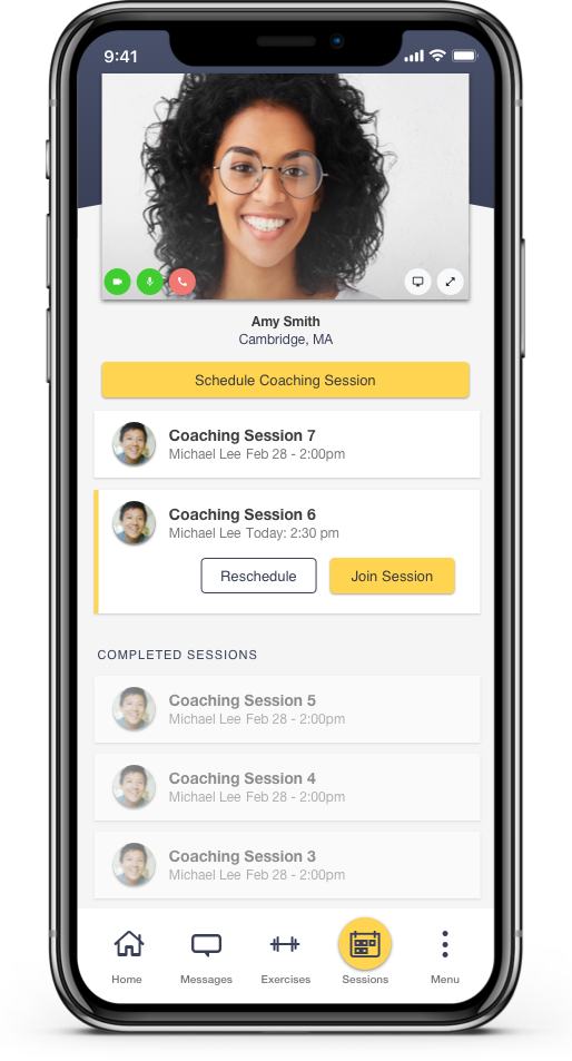 Coaching Session - Mobile